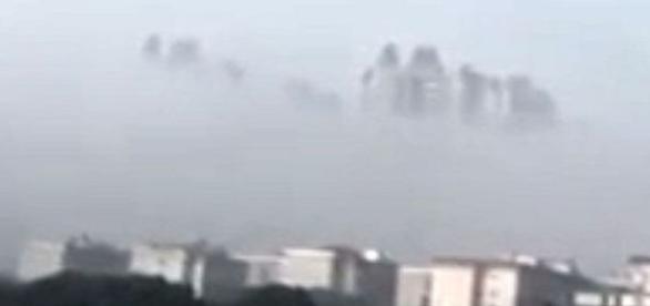 Poluição era tanta, que chineses pensaram se tratar de uma cidade fantasma (孙彦)