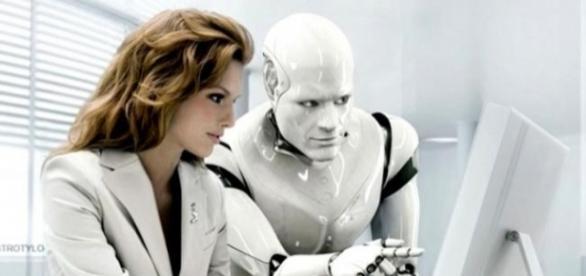 Robôs tendem a ocupar cada vez mais o mercado de trabalho com o advento da inteligência artificial. (FONTE: <http://rockntech.com.br/>)