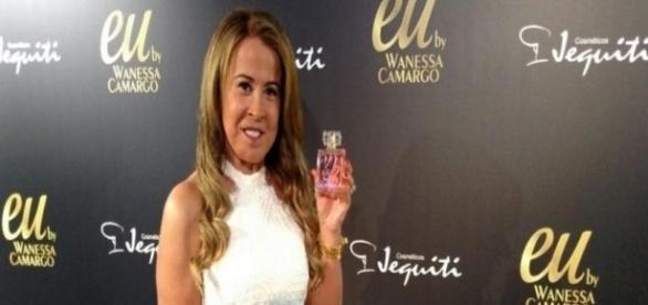 Zilu no lançamento do perfume de sua filha, Wanessa