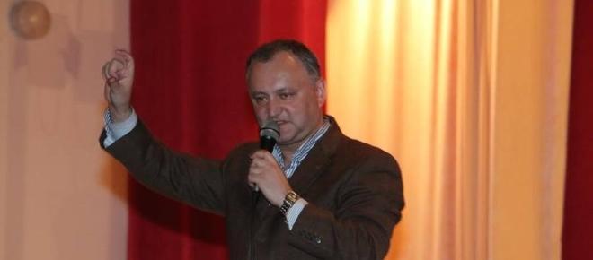 Declaraţiile ameninţătoare antiromâneşti ale lui Igor Dodon după întalnirea cu Putin