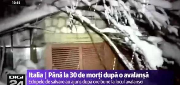 Avalanșă ucigașă în Italia, după cutremure