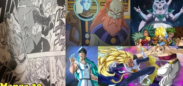 Dragon Ball Super Manga 20, Nuevo dios destructor, Los participantes de los 12 dioses de la destrucción