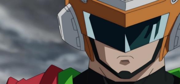 El Gran Saiyaman en el episodio 74 de la serie