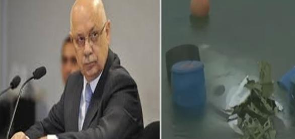 Filho confirma morte de ministro Teori Zavascki em acidente de avião agora a tarde