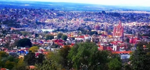 Imagen toma desde el mirador de San Miguel de Allende. Mitzi Vera
