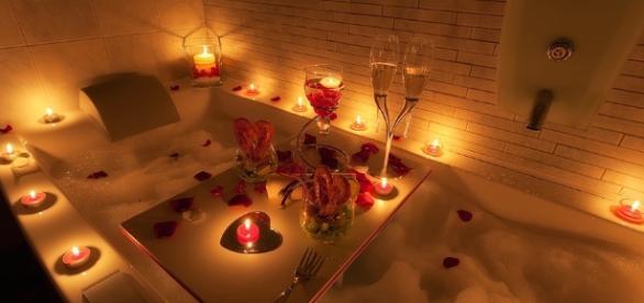 Jacuzzi in love.....per San Valentino l'aperitivo è in vasca ... - ilcucinale.com