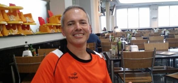 Julinho, treinador das categorias de base
