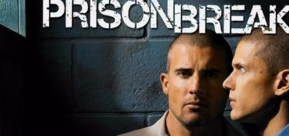 Lincoln Burrows (Dominic Purcell) e Michael Scofield (Wentworth Miller) em 'Prison Break'.