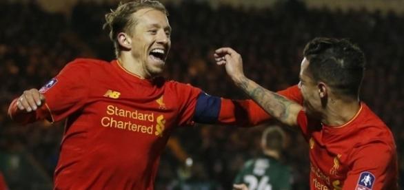 Rare Lucas Leiva goal edges Liverpool past Plymouth | MARCA in English - marca.com