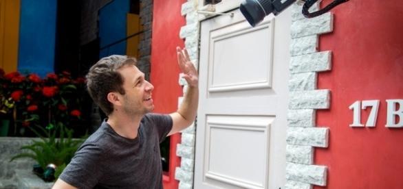 Tiago Leifert, o apresentador do Big Brother Brasil 17 (Foto: TV Globo)