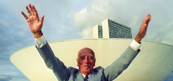 Ulysses Guimarães em Brasília.