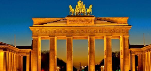 La Puerta de Brandenburgo, uno de los símbolos de Berlín.