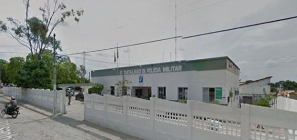 Na imagem o 3º Batalhão da Polícia Militar da cidade de Floriano.