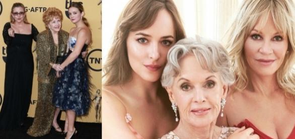 Três gerações reunidas. / Imagem: Reprodução