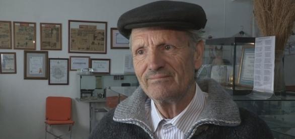 Albano Silva, criador do museu sobre a Cidadelha de Jales