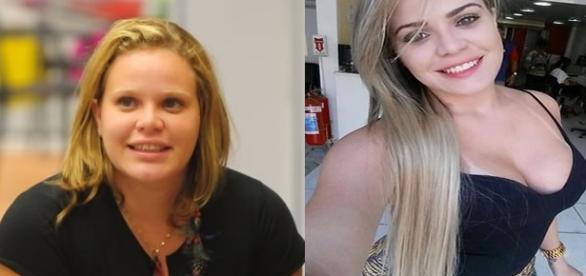 Antes e depois da ex-BBB Paulinha