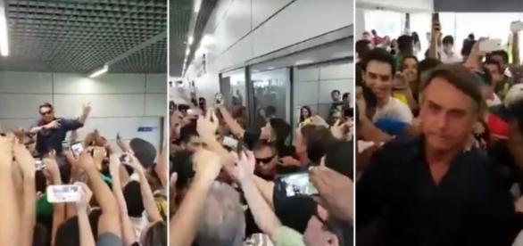 Bolsonaro foi ovacionado em Minas Gerais
