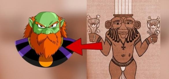 """Imagen del dios de la destrucción creada por """"SaoDVD""""."""