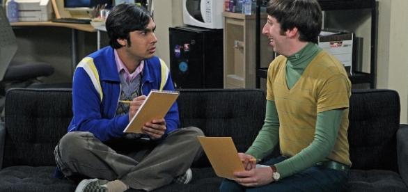 Raj and Howard conduct a focus group of ex - girlfriends (Image source: Flickr NASA Blueshift, https://www.flickr.com/photos/nasablueshift/5198239915)