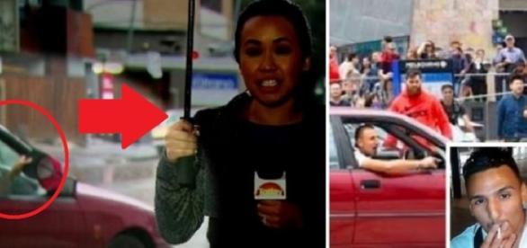 Repórter de TV é provocada e tudo termina em assassinatos