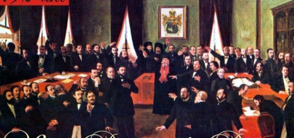 1859 - Unirea Principatelor Române