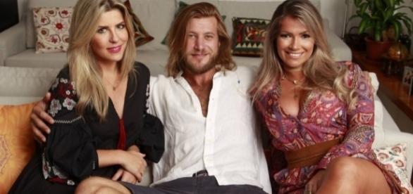 Alemão, Iris e Fani se reencontram dez anos após viverem triângulo amoroso