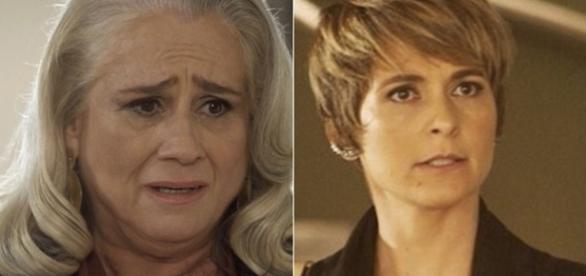 Imagem: as atrizes Vera Holtz e Cláudia Abreu em 'A Lei do Amor'