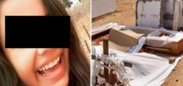 Menina é estuprada após a morte - Google