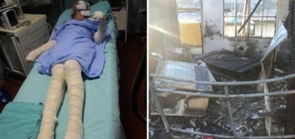Jovem fica gravemente ferida após se recusar a fazer sexo com esposo
