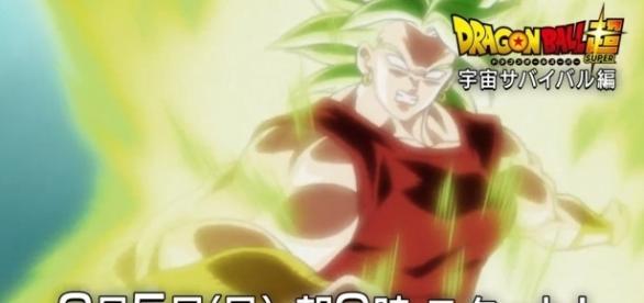 La impactante transformación de la primer mujer Super Saiyajin.