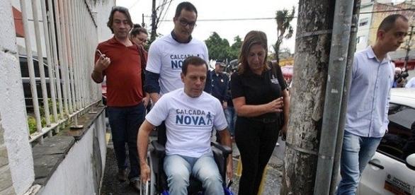 Prefeito eleito, João Doria (PSDB) participa de ação na Vila Maria