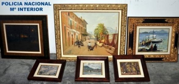 Recuperadas en Manacor un total de 6 obras de arte robadas, con un ... - lainformacion.com