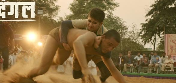 A still from 'Dangal' (Image credits: Twitter.com/Utvfilms)
