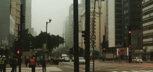 Avenida Paulista. (Foto por Mariana L. Ramires)