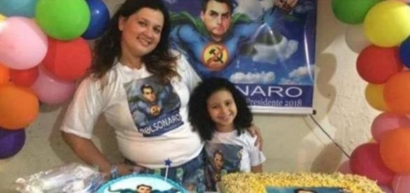 Bolsonaro vira tema de festa infantil