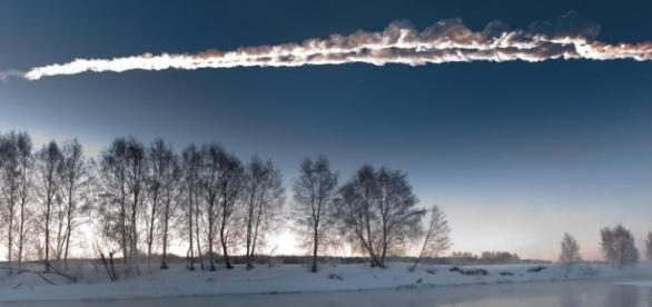 Explosión del meteorito Cheliábinsk en Rusia
