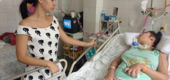 Jovem fica em coma irreversível após cesariana.