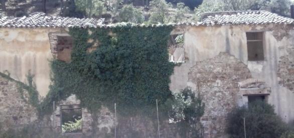 Le vecchie case dei minatori di Ingurtosu