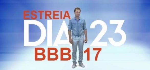 O BBB17 vai contar com um novo apresentador