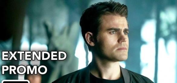 The Vampire Diaries 8x09: Stefan e Damon se confrontam (Foto: CW/Youtube)