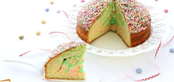 Torta Arlecchino | Ricette della Nonna - ricettedellanonna.net