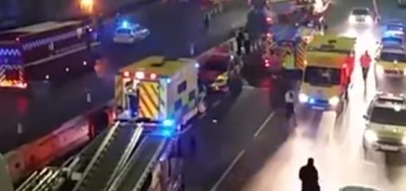 VIDEO: EXPLOZIE puternică la LONDRA luni după-amiază