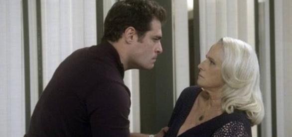 Ciro e Magnólia em 'A Lei do Amor' (Divulgação/Globo)
