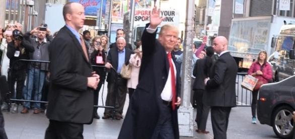 Donald Trump: My Security Team Is YUGE! (VIDEO) | TMZ.com - tmz.com