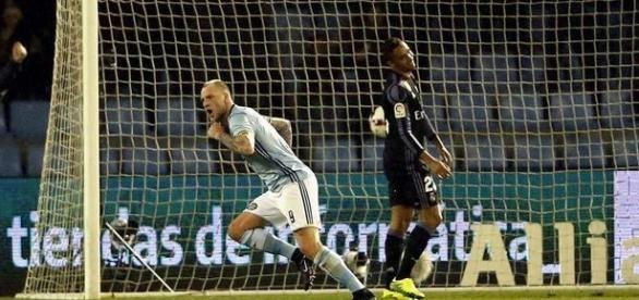El autogol de Danilo en la primera parte en remate de Guidetti del Celta. MARCA.com