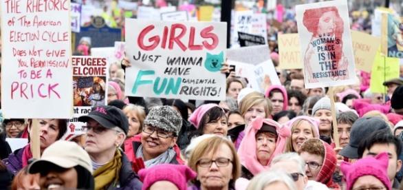 Girl's just want to have FUNdamental rights. Un argument féministe revenant souvent