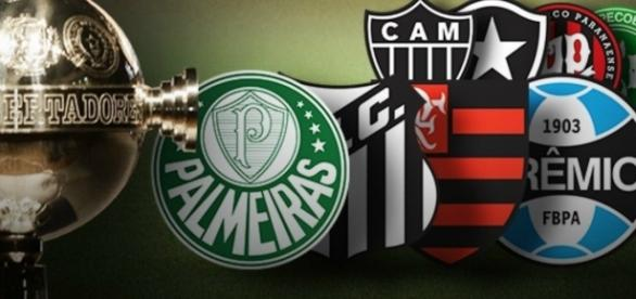Oito times brasileiros vão disputar a Libertadores da América em 2017