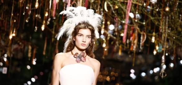 Le premier défilé Dior au musée Rodin par Maria Grazia Chiuri