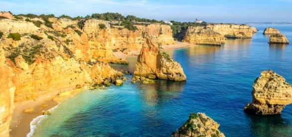 Um dos muitos pontos turísticos em Portugal