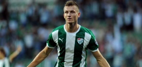 Tomas Necid występował ostatnio w Bursasporze